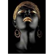 Afrikalı Kadın Tabloları
