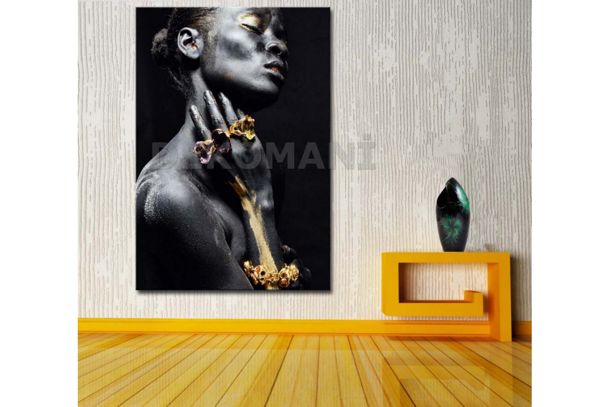 Afrikalı Kadın Tablosu Afr1