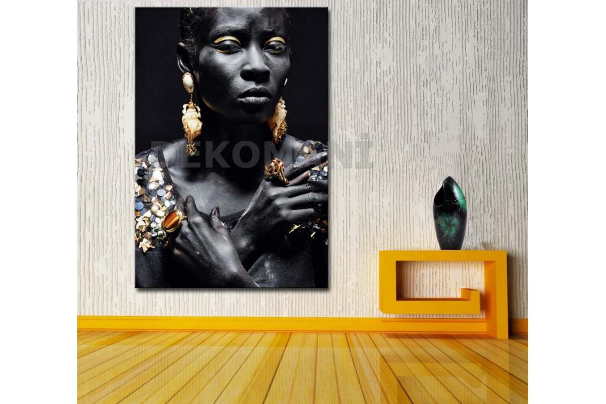 Afrikalı Kadın Tablosu Afr6