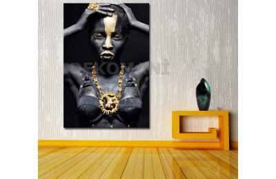 Afrikalı Kadın Tablosu Afr7