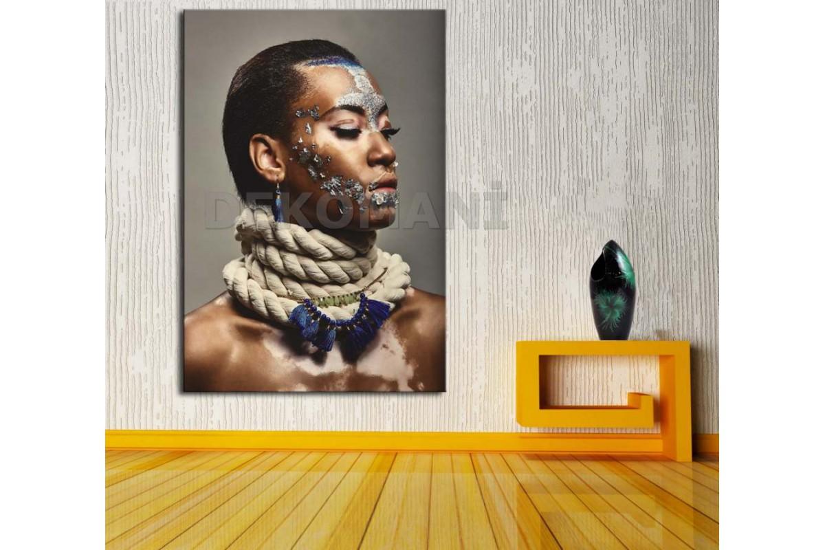 Afrikalı Kadın Tablosu Afr10
