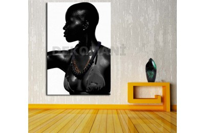Afrikalı Kadın Tablosu Afr14