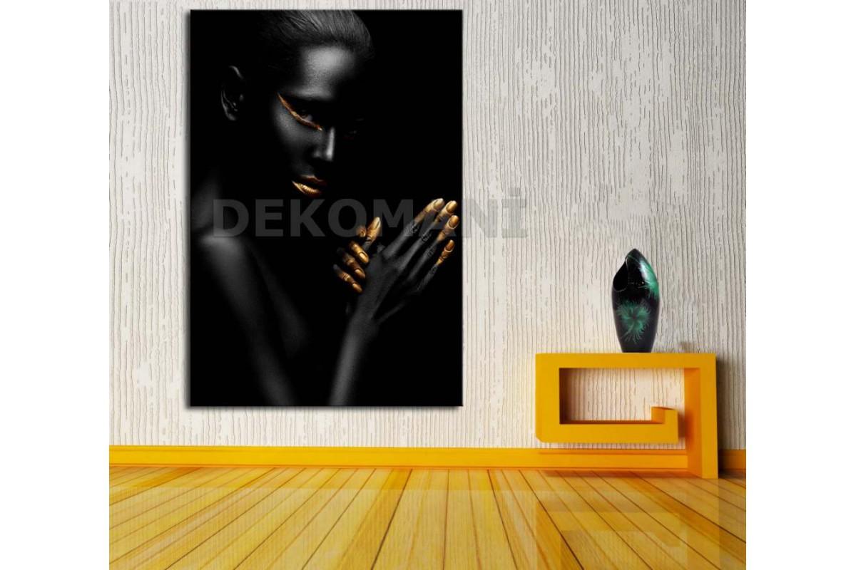 Afrikalı Kadın Tablosu Afr16