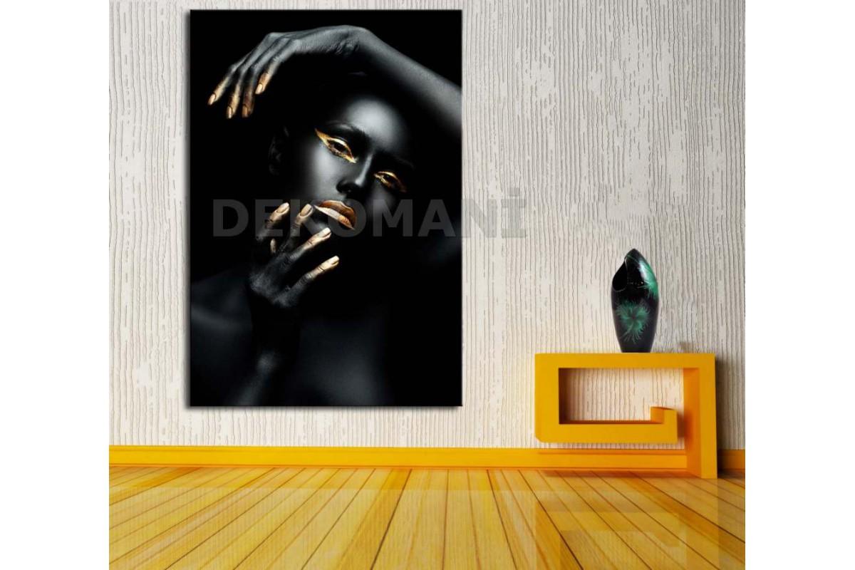 Afrikalı Kadın Tablosu Afr23