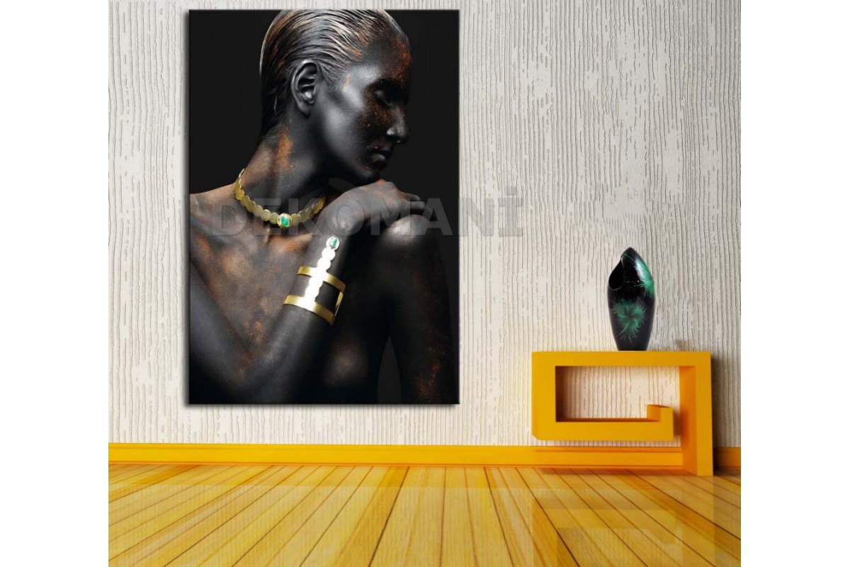 Afrikalı Kadın Tablosu Afr24