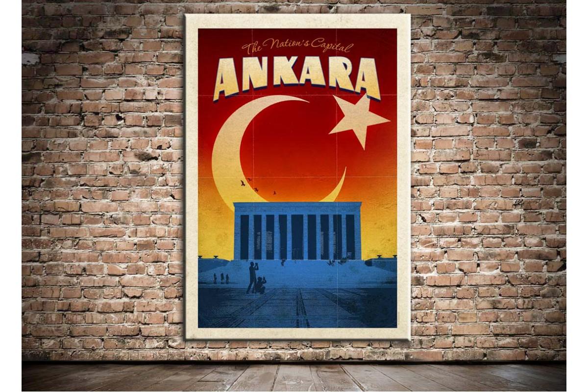Ankara Anıtkabir Kanvas Tablo dkm-k20b