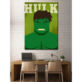 Süper Kahramanlar Serisi Hulk Kanvas Tablo dkm-k39-4