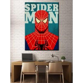 Süper Kahramanlar Serisi Spiderman Kanvas Tablo dkm-k39-8