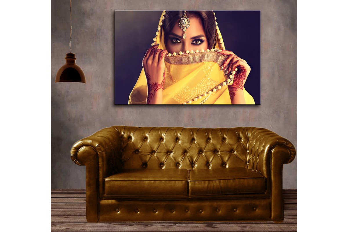 dkm-k62-18 Hintli Kadın Tablosu
