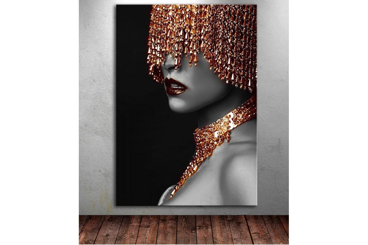 dkm-k62-31 Altın Saçlı Kadın  Tablo