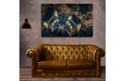dkm-k62-4 Fraktal Yağlı Boya Görünüm Tablo