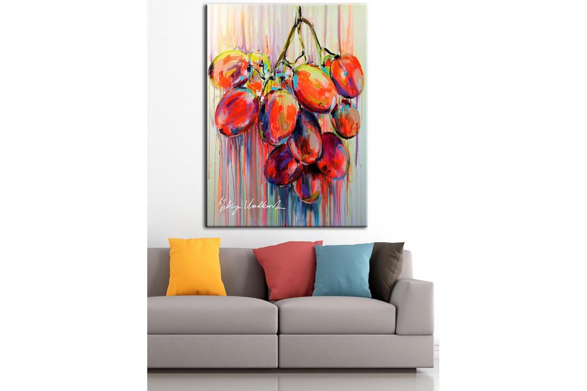 Meyveler  Yağlı Boya Görünüm Kanvas Tablo dkm-k61-103