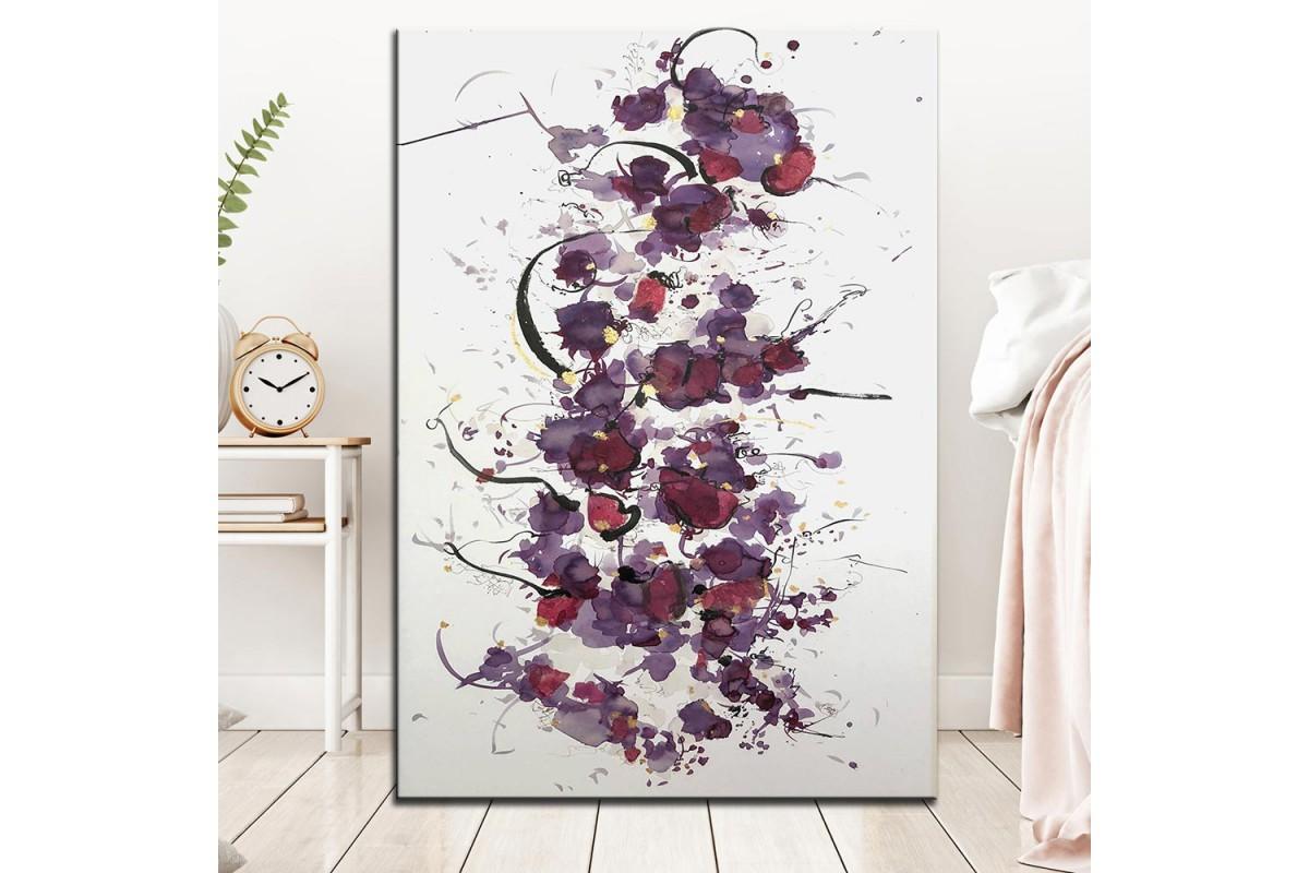 Soyut Sanatsal  Yağlı Boya Görünüm Kanvas Tablo dkm-k61-138