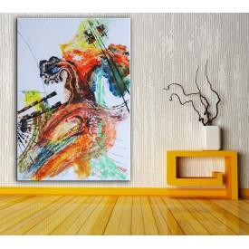 Soyut  Yağlı Boya Görünüm Kanvas Tablo dkm-k61-155