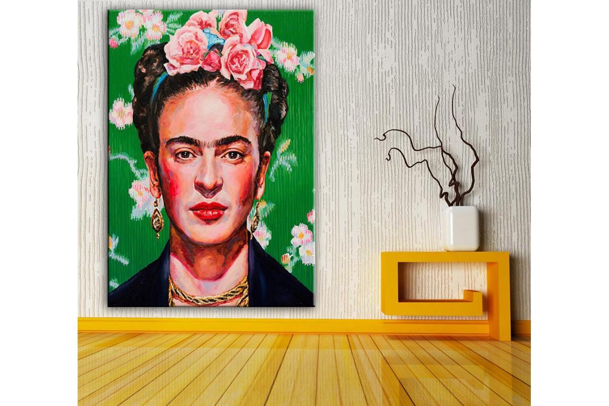 Frida Kahlo  Yağlı Boya Görünüm Kanvas Tablo dkm-k61-156