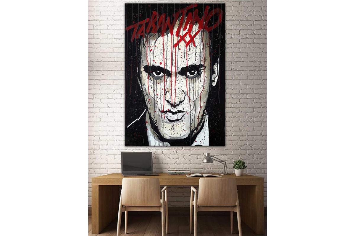 Tarantino  Yağlı Boya Görünüm Kanvas Tablo dkm-k61-196