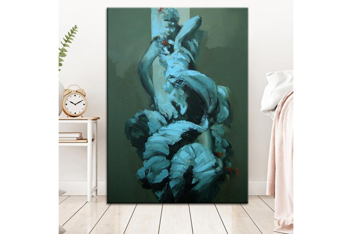Dansçı Yağlı Boya Görünüm Kanvas Tablo dkm-k61-96