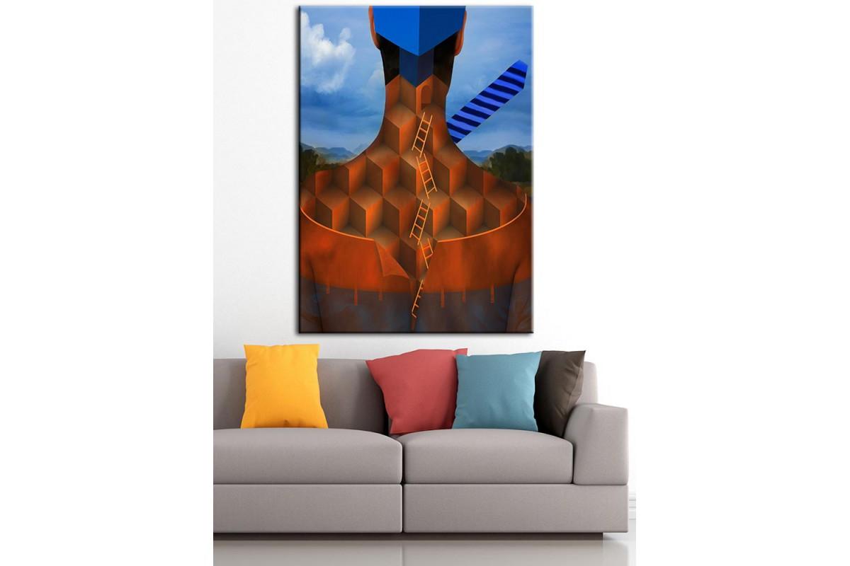 Sanatsal  Yağlı Boya Görünüm Kanvas Tablo dkm-k61-97