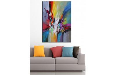 Yağlı Boya Görünüm Sanatsal Kanvas Tablo dkm-k63-3
