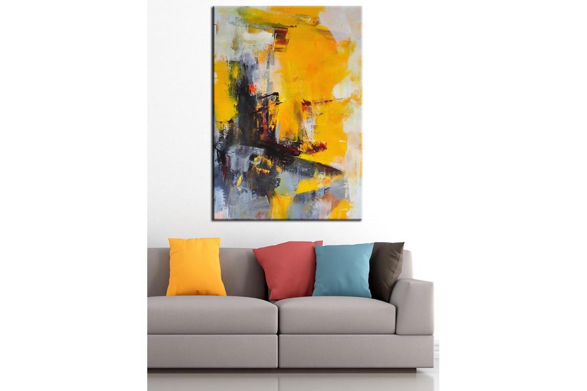 Yağlı Boya Görünüm Sanatsal Kanvas Tablo dkm-k63-4