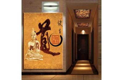 Buddha Feng Shui Buda Kanvas Tablo k68-29