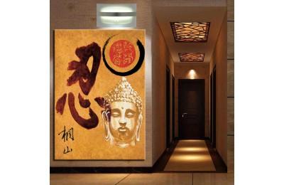 Buddha Feng Shui Buda Kanvas Tablo k68-30