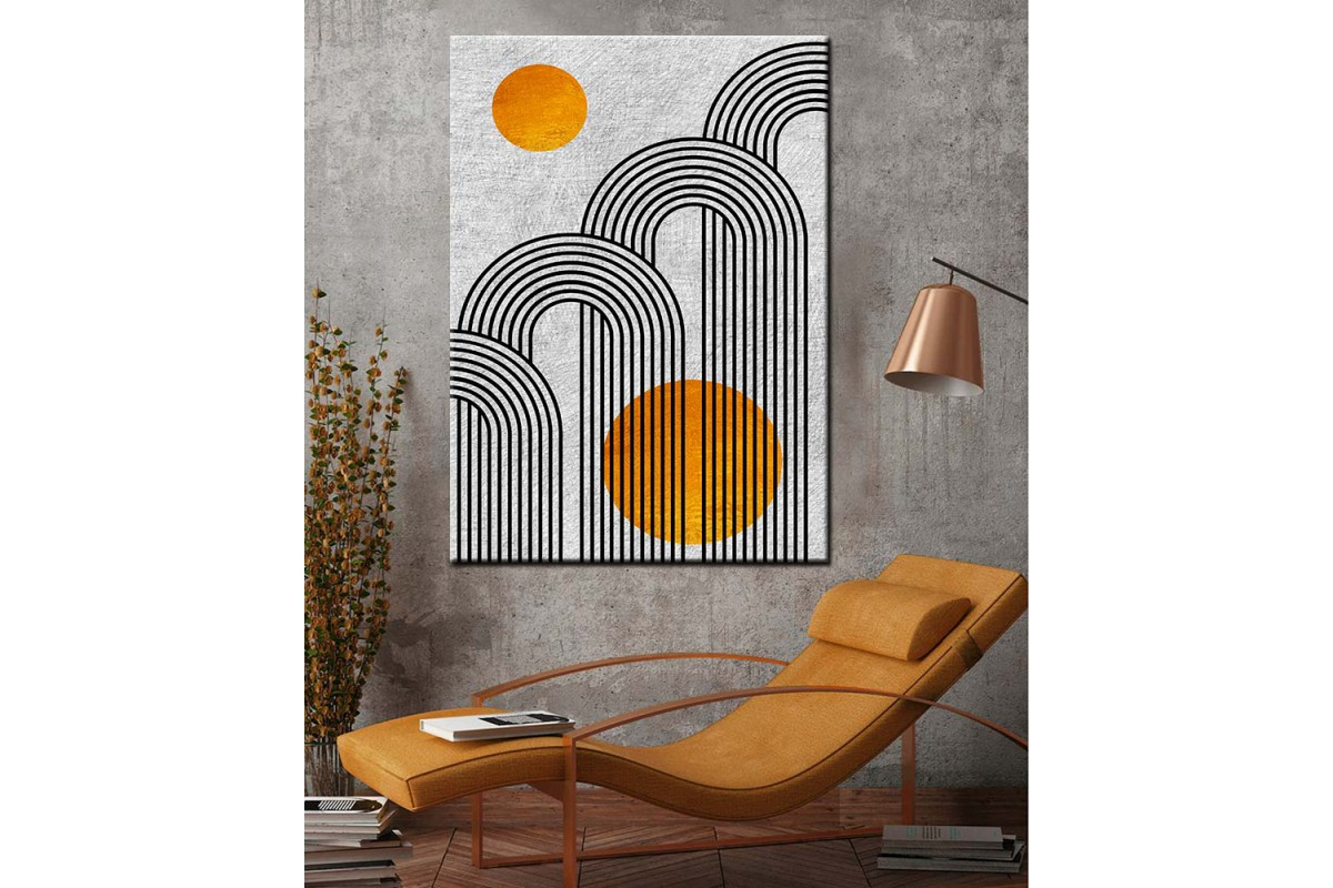 iskandinav Tarz Dekoratif Tablolar dkm-k73-13-7