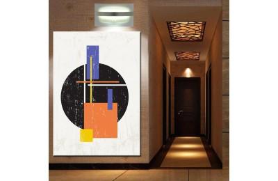 Renkler Geometrik Soyut Kanvas Tablo dsk-k1-1