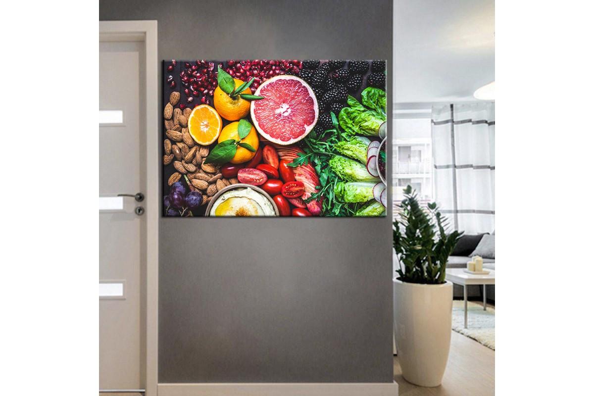 Beslenme Uzmanı ve Diyetisyen Dekorasyon Tabloları kns-04