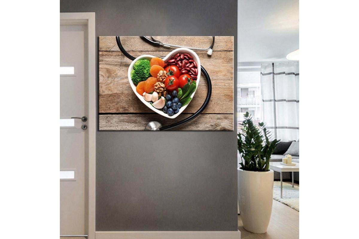 Beslenme Uzmanı ve Diyetisyen Dekorasyon Tabloları kns-12