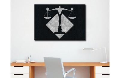 Avukatlık Bürosu Tabloları Hukuk Bürosu İç Dekorasyon kns-62