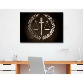 Avukatlık Bürosu Tabloları Hukuk Bürosu İç Dekorasyon kns-65