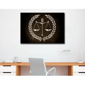 Avukatlık Bürosu Tabloları Hukuk Bürosu İç Dekorasyon kns-66