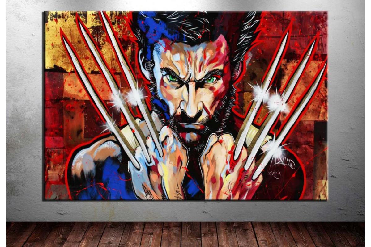 Wolverine Kanvas Tablo dkm-vng24