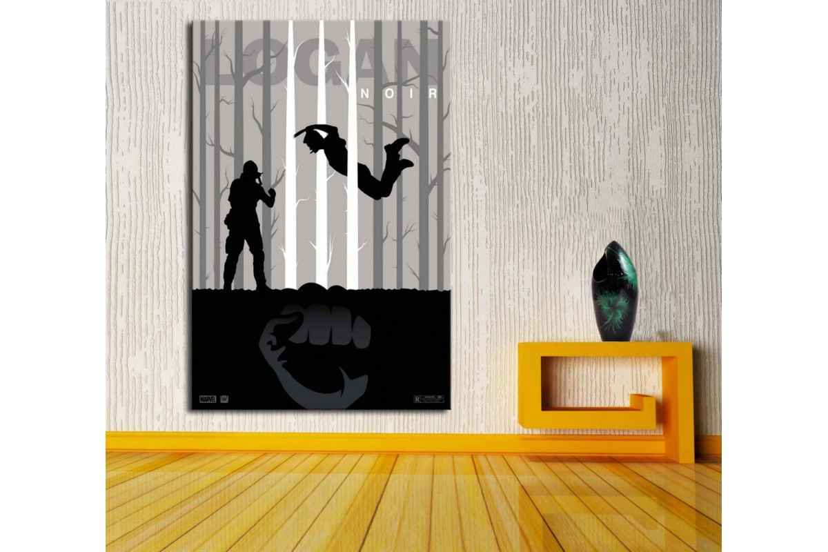 Logan Wolverine Kanvas Tablo dkm-vng32