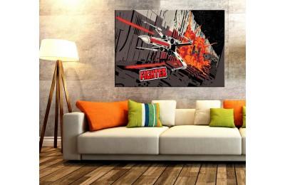 Star Wars X-Wing Fighter Kanvas Tablo dkm109