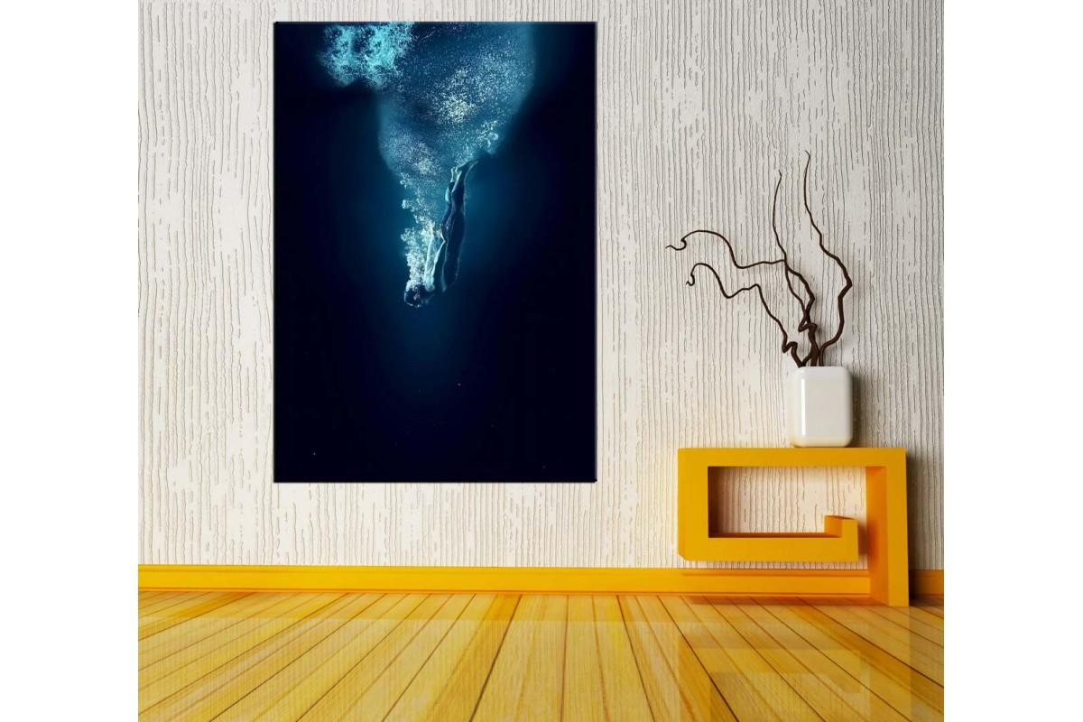 Dip Dalışı Rüya Fantastik Kanvas Tablo dkm111