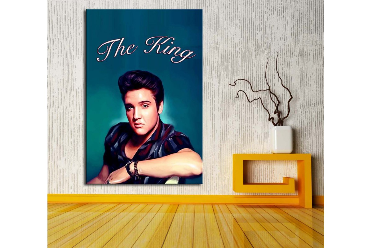 Elvis Presley The King Kanvas Tablo dkm122