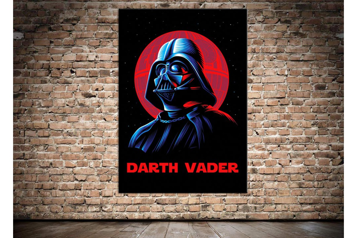 Dkmr151 Darth Vader Star Wars Kanvas Tablo