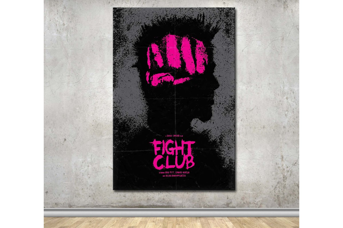 Fight Club Kanvas Tablo dkmfl07