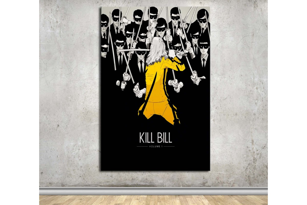 Kill Bill Kanvas Tablo dkmfl10