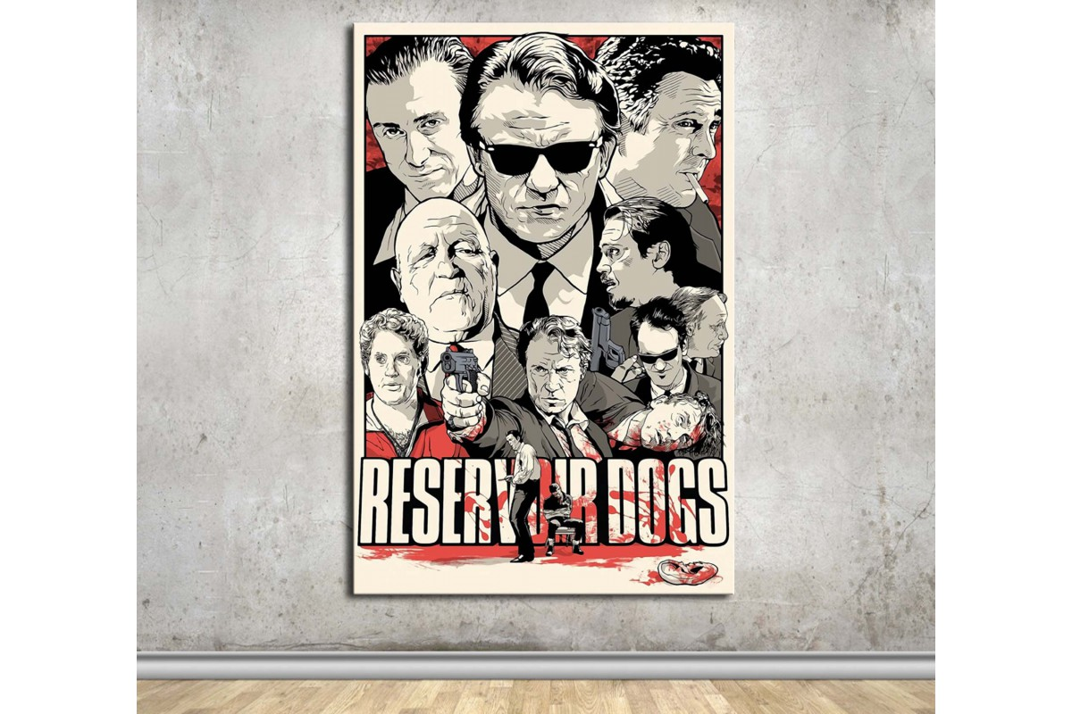 Reservoir Dogs Kanvas Tablo dkmfl13