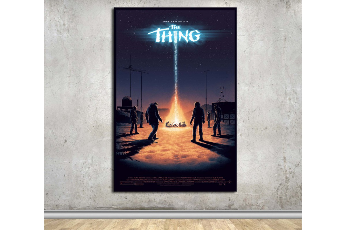 The Thing Kanvas Tablo dkmfl16