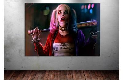 Suicide Squad Harley Quinn Kanvas Tablo dkmr139