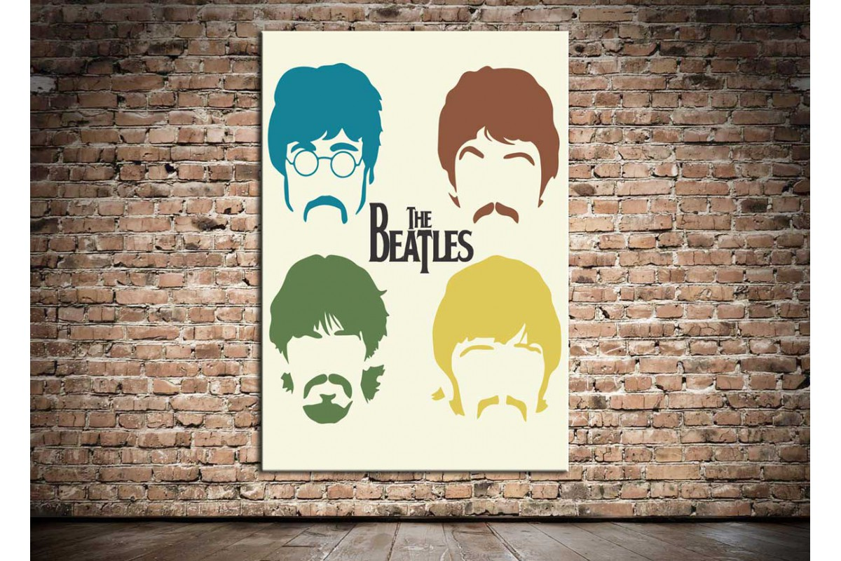 The Beatles Kanvas Tablo dkmr184