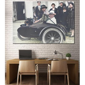 Atatürk Motosiklet Sepeti Renklendirme dkmr221R