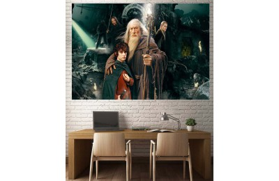 Lord Of The Rings Karakterleri Kanvas Tablo dkmr226
