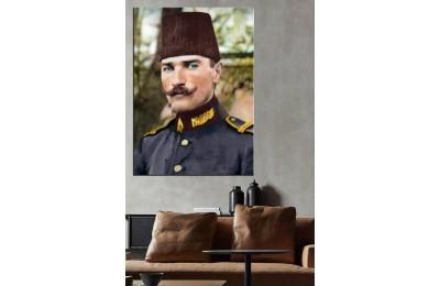 Osmanlı Ordusu Yüzbaşısı Mustafa Kemal Bey Renklendirme dkmr228