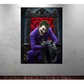 Joker Batman Kanvas Tablo dkmr232