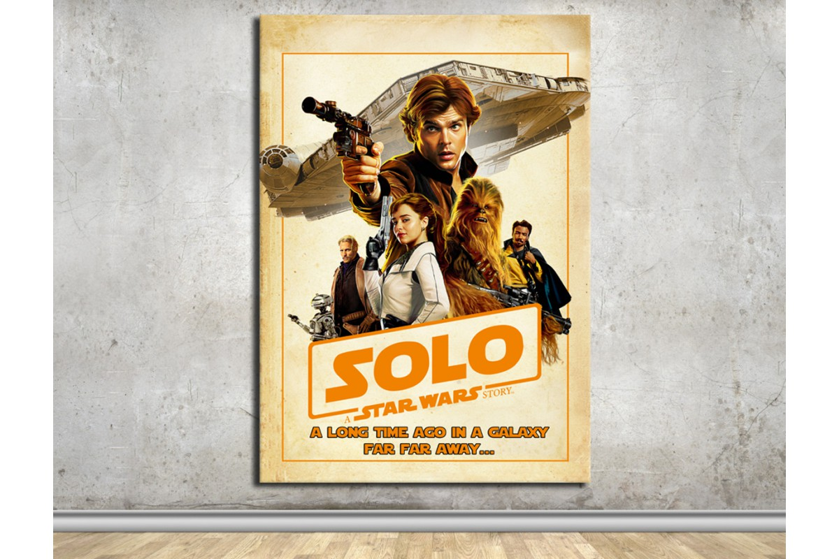 StarWars Han Solo Kanvas Tablo dkmsw06